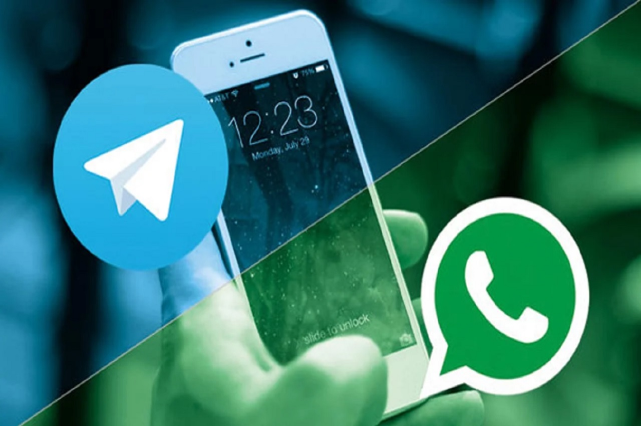 chats WhatsApp a Telegram