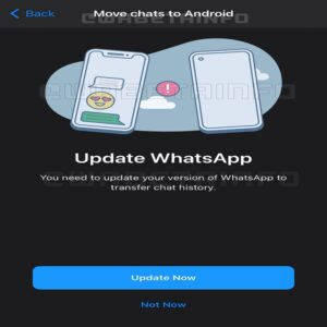 mover tus chats de Android a iOS